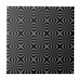 Sunbeam in Black and Grey tiled tile