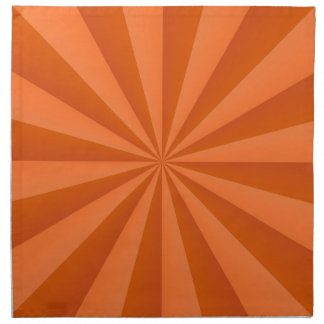 Sunbeams in Orange Napkins