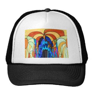Sunbeams on the waterfall hats