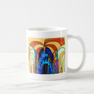 Sunbeams on the waterfall mug