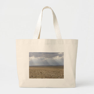 Sunbeams Over The Plain Jumbo Tote Bag