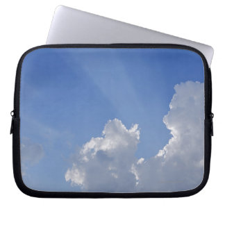 Sunbeams through Clouds, Val d'Orcia, Siena Laptop Sleeve