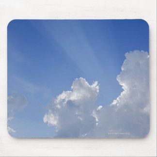 Sunbeams through Clouds, Val d'Orcia, Siena Mouse Mat