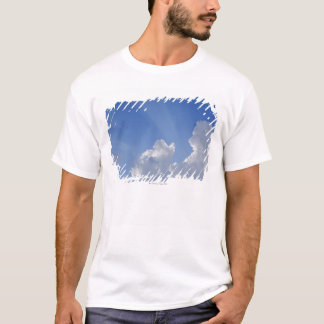Sunbeams through Clouds, Val d'Orcia, Siena T-Shirt