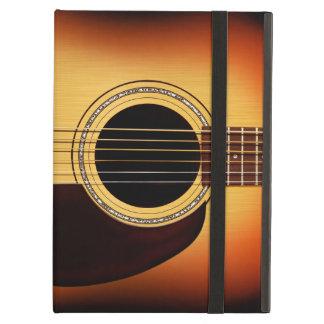 Sunburst Acoustic Guitar Cover For iPad Air