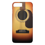 Sunburst Acoustic Guitar iPhone 7 Plus Case