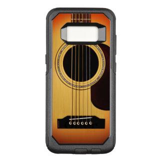 Sunburst Acoustic Guitar OtterBox Commuter Samsung Galaxy S8 Case