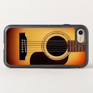 Sunburst Acoustic Guitar OtterBox Symmetry iPhone 8/7 Case