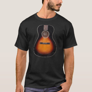 Sunburst Acoustic Guitar T-Shirt