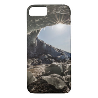 Sunburst at ice cave entrance iPhone 8/7 case