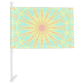 Sunburst Car Flag