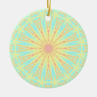 Sunburst Christmas Ornament