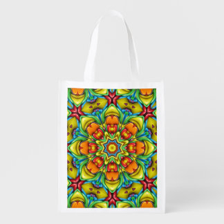 Sunburst Colorful Reusable Bags