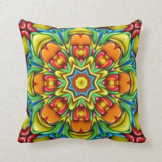 Sunburst Colorful Throw Pillows Throw Cushion