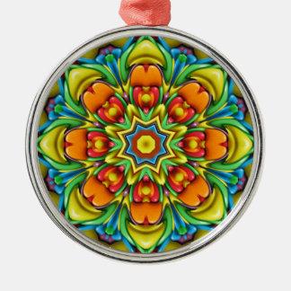 Sunburst Colorful  Vintage Kaleidoscope  Ornaments