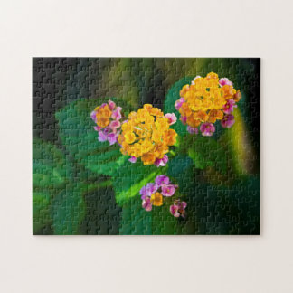 Sunburst Flowers Jigsaw Puzzle