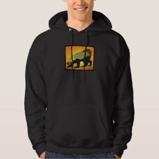 Sunburst Honey Badger Hoodie