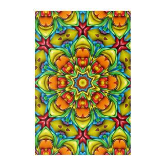 Sunburst Kaleidoscope   Acrylic Wall Art