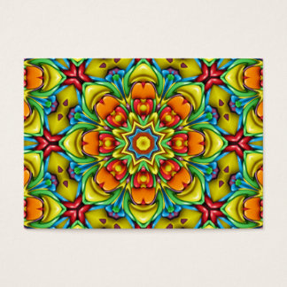 Sunburst Pattern   Colorful Business Cards
