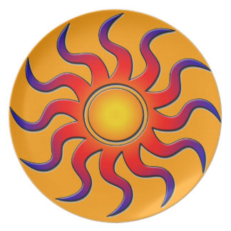 Sunburst Plate