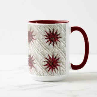 Sunburst Quilt Mug