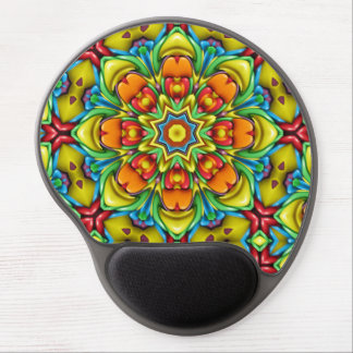 Sunburst  Vintage Kaleidoscope  Gel Mousepad Gel Mouse Mat