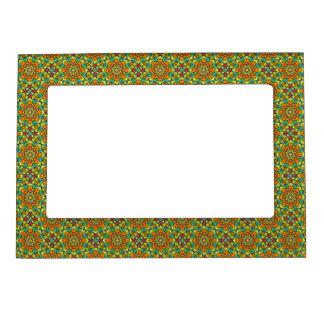 Sunburst Vintage Kaleidoscope    Magnetic Frames