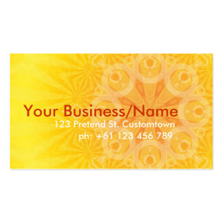 Sunburstia Business Card