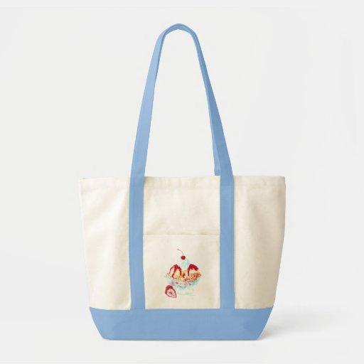 Sundae Canvas Bags
