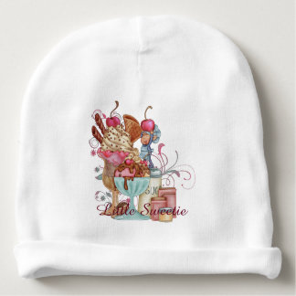 Sundae Chef Personalized Baby Beanie