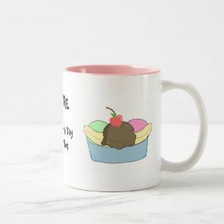 Sundae My Favourite Day... Two-Tone Coffee Mug
