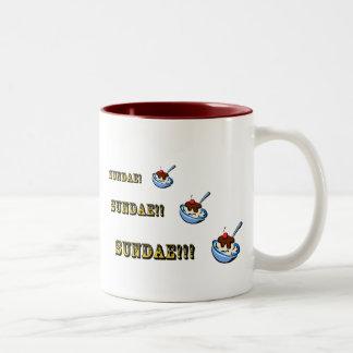 Sundae! Sundae!! Sundae!!! Two-Tone Coffee Mug