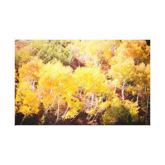 Sundance Fall Leaves Canvas Print