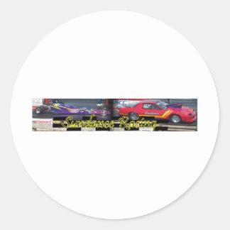 Sundance Racing Classic Round Sticker