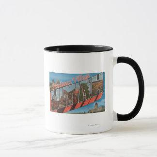 Sundance Village, Utah - Large Letter Scenes Mug
