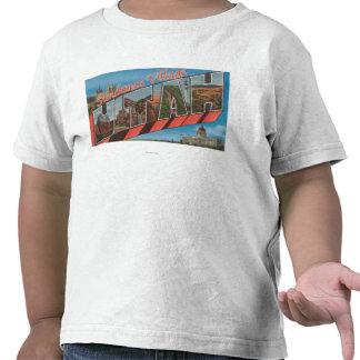 Sundance Village, Utah - Large Letter Scenes T-shirts