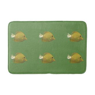 Sundance Yellow Fish Bath Mat