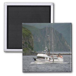 Sundancer, Longliner in Dutch Harbor, Alaska Fridge Magnets