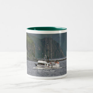 Sundancer, Longliner in Dutch Harbor, Alaska Two-Tone Coffee Mug