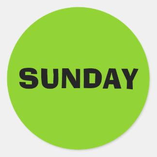 Sunday Ad Lib Yellow Green Sticker by Janz