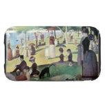 Sunday Afternoon, Island La Grande Jatte by Seurat iPhone 3 Tough Case