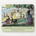 Sunday Afternoon, Island La Grande Jatte by Seurat Mouse Pads