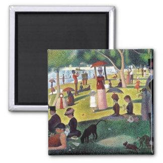 Sunday Afternoon La Grande Jatte - Georges Seuratt Magnet