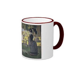 """Sunday Afternoon"" Mug by Seurat"