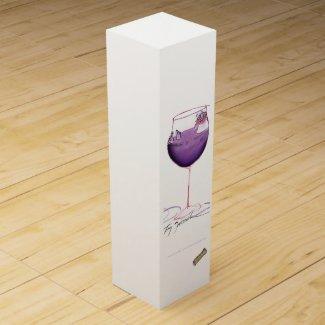 sunday afternoon nap, tony fernandes wine bottle box
