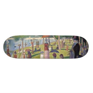Sunday Afternoon on the Island of La Grande Jatte 21.6 Cm Skateboard Deck