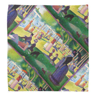 Sunday Afternoon On The Island Of La Grande Jatte Bandana