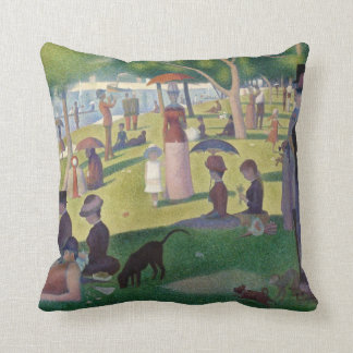 Sunday Afternoon on the Island of La Grande Jatte Cushion