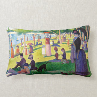 Sunday Afternoon On The Island Of La Grande Jatte Lumbar Cushion