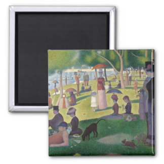 Sunday Afternoon on the Island of La Grande Jatte Magnet